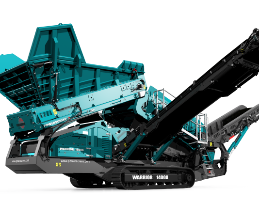 Powerscreen Warrior 1400x Rental