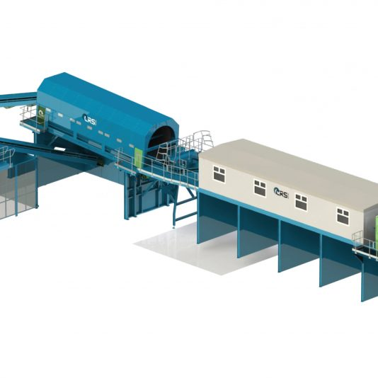 Static Recycling Plant