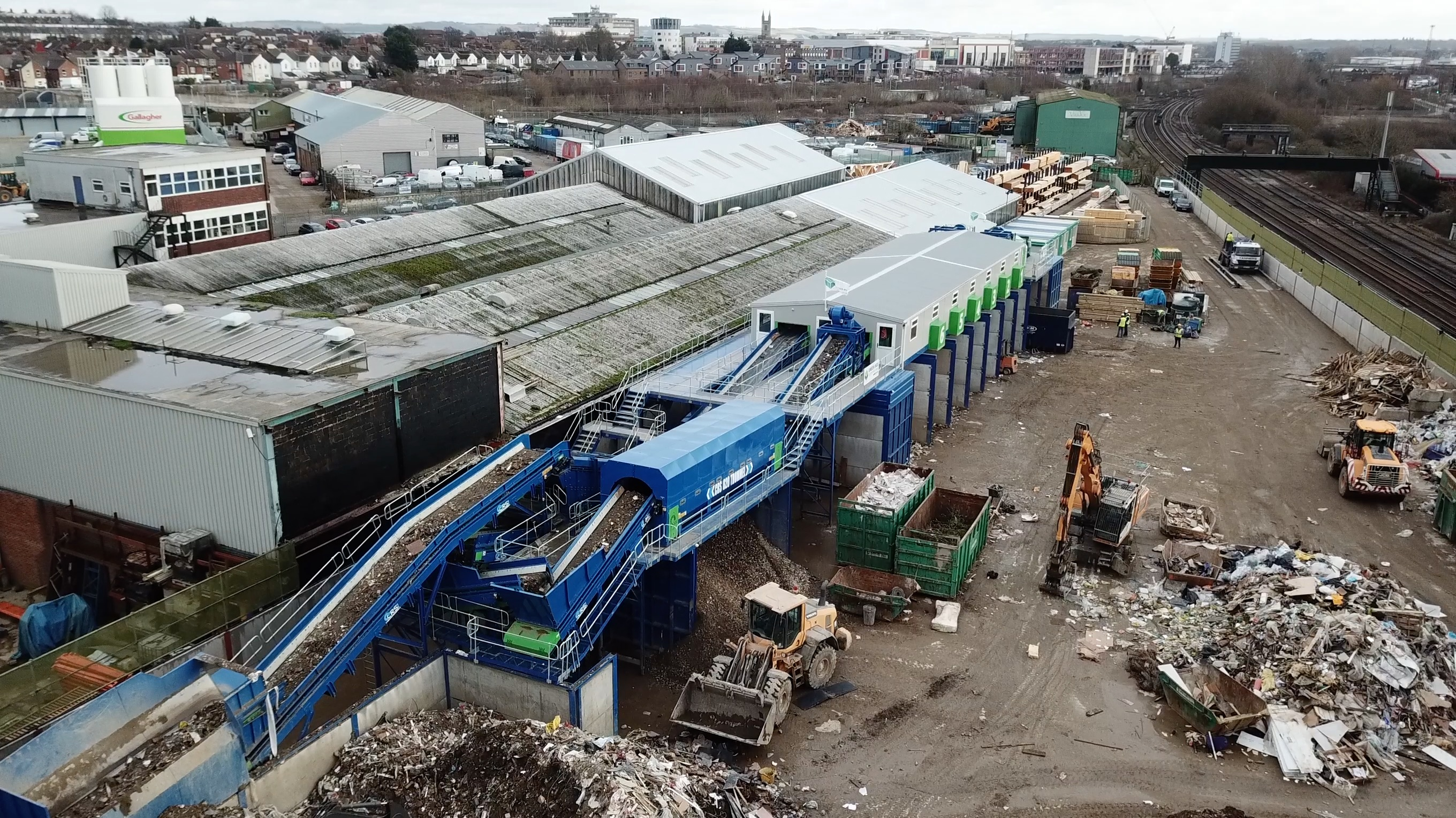 Static Recycling Systems