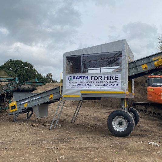 CRS Site Master 4 man Mobile Picking Cabin